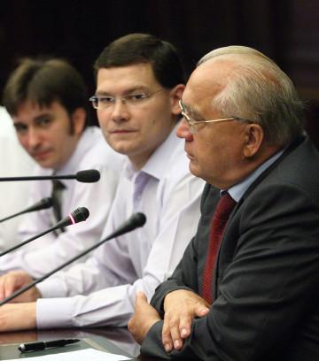 Встреча ректора МГУ В.А. Садовничего с активом РССО